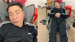 Hé lộ hậu trường Táo Quân: Công Lý ngủ gục sau 15 tiếng tập luyện, các nghệ sĩ gấp rút chuẩn bị