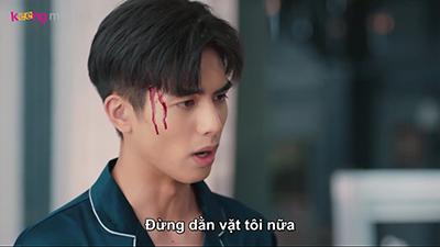 'Bỉ ngạn hoa' tập 35 – 36: Tống Uy Long hết cầm chai rượu tự đập vào đầu lại đánh nhau phải vào đồn cảnh sát
