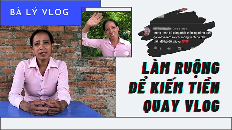 Bà Lý lần đầu tâm sự áp lực của 'người nông dân' khi làm vlog: Dân mạng đột ngột thay đổi thái độ