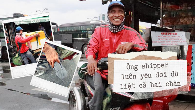 Chú shipper bị liệt hai chân ở Sài Gòn: 'Tìm trong những gia đình khuyết tật, sẽ chỉ thấy hạnh phúc'