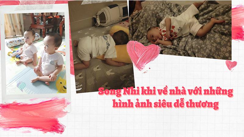 Hình ảnh mới nhất của Song Nhi khi xuất viện về nhà: Ăn ngon ngủ kỹ, tư thế ngủ cực đáng yêu