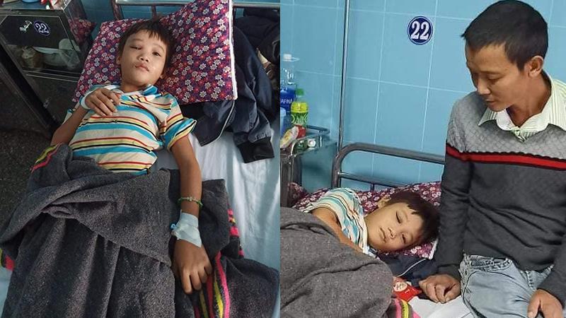 Ngập lụt, mất điện ở Quảng Bình: Bé trai 12 tuổi trượt chân ngã chấn thương sọ não