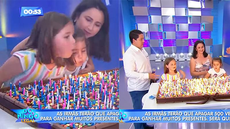 Đoạn kết có hậu cho hai bé gái trong clip tranh nhau thổi nến sinh nhật