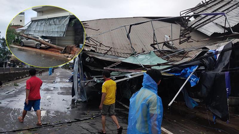 Thống kê những thiệt hại ban đầu tại Đà Nẵng, Quảng Ngãi, Phú Yên khi siêu bão số 9 càn quét mạnh nhất
