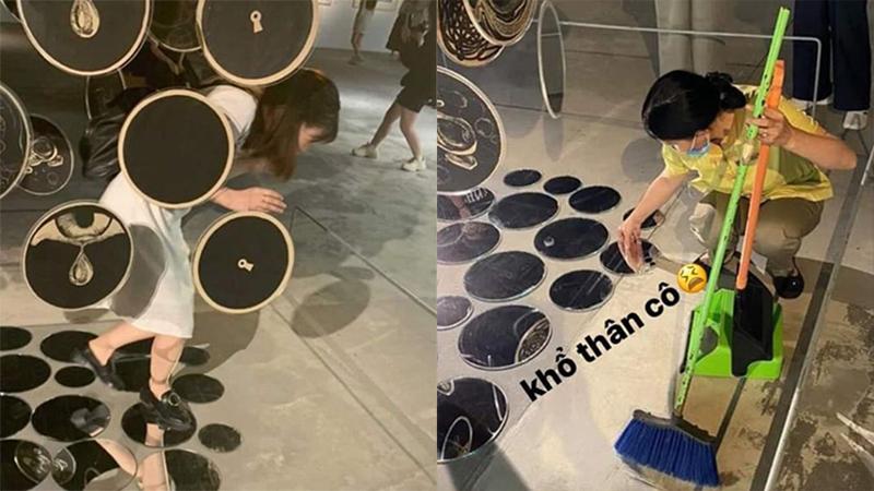 Tranh cãi việc giới trẻ thiếu ý thức khi đến tham quan trung tâm nghệ thuật VCCA Hà Nội