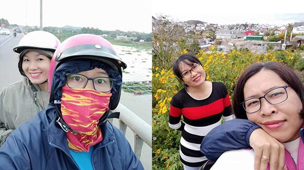 Một tiếng chuẩn bị sau lời rủ rê, đôi bạn thân U40 xách xe máy từ Sài Gòn lên Đà Lạt: 'Đi để yêu đời'
