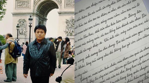 Con gái chép thơ tặng bố nhận về lời khen ấm áp: 'Bố sẽ đóng khung treo lên tường'
