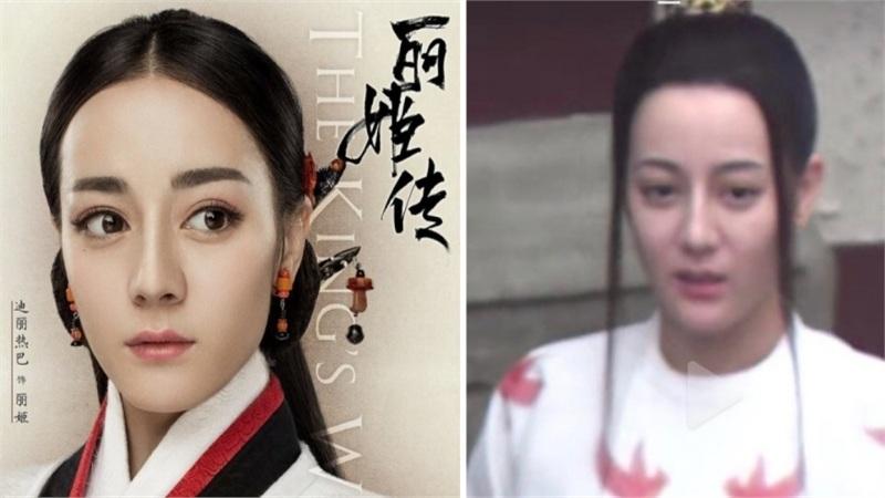 Là 'mỹ nhân Tân Cương' mà không ít lần Địch Lệ Nhiệt Ba bị dìm thảm thương vì kiểu tóc