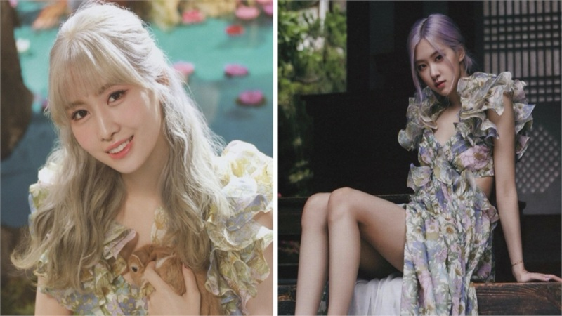 Rosé mặc đầm hoa đẹp như nàng thơ nhưng chưa chắc đã 'đè bẹp' được khí chất của Momo