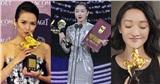 Netizen nổi tranh cãi khi Châu Đăng Vũ thành 'Tam Kim Ảnh hậu', ngồi 'chung mâm' với Châu Tấn, Chương Tử Di