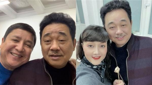 'Táo Quân 2021': Nghệ sĩ Vân Dung, Chí Trung tiết lộ sự thật tin NSƯT Quốc Khánh không đóng 'Ngọc Hoàng'