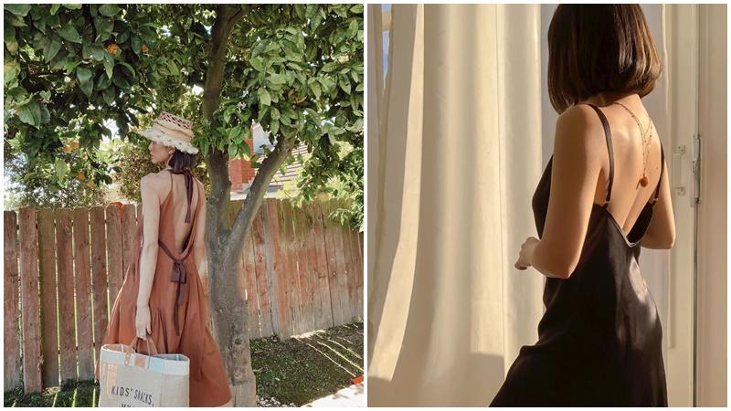 5 lưu ý khi mặc đầm hở lưng giúp bạn quyến rũ hơn bội phần