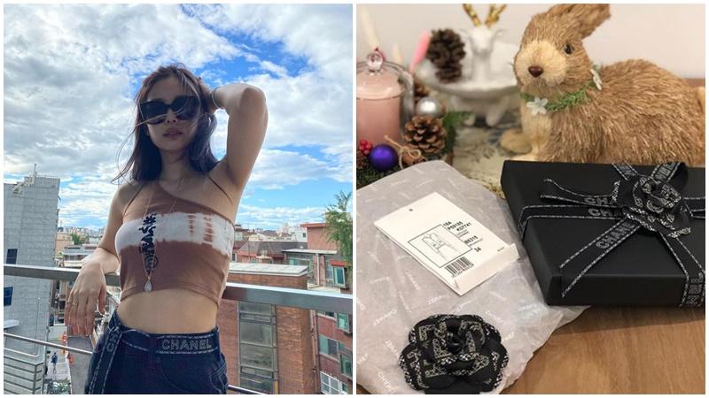 Lấy ruy băng gói quà limited của Chanel làm đai thắt lưng chất lừ, Jennie (Black Pink) khiến ai cũng trầm trồ nhưng khó lòng mà 'đu' theo
