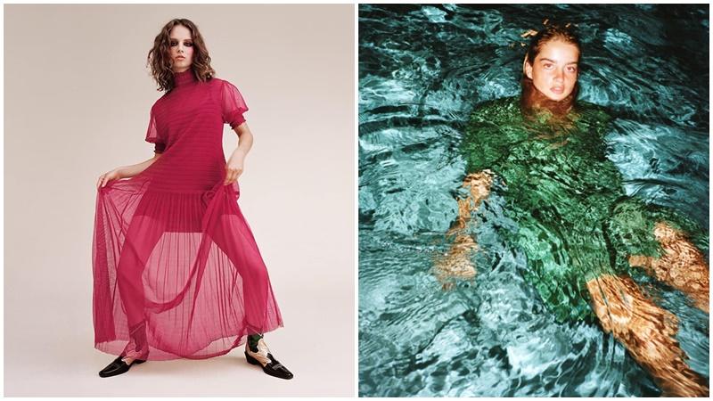 Hết 'quằn quại' rồi lại chui xuống nước, người mẫu Zara khiến dân mạng phải kêu trời 'chọn đồ kiểu gì đây'