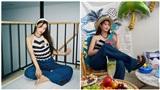 Hết thời đụng hàng Jennie (Black Pink), Joy (Red Velvet) chuyển sang 'so kè cao thấp' cùng mẫu áo ngày hè siêu đắt đỏ của IU