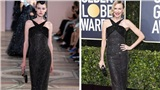 Diện lại các mẫu thiết kế của những thương hiệu thời trang đình đám, sao Hollywood vẫn tạo được sự khác biệt với mẫu trên sàn diễn