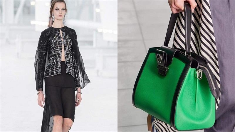 Hai show Xuân Hè 2021 lớn giữa mùa dịch: Sắc xanh lá 'làm chủ sân chơi' Louis Vuitton, Chanel đơn điệu