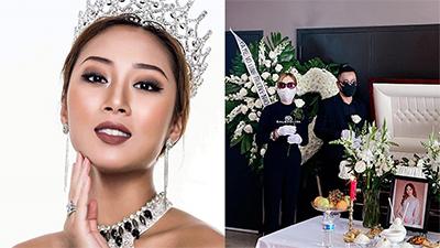 Không khí đau thương bao trùm tang lễ của Hoa hậu Jacqueline Đặng tại Mỹ
