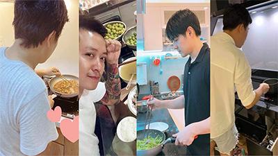 Những ông chồng đảm đang mùa dịch: Trấn Thành, Trường Giang đêm khuya nấu ăn cho bà xã, Ông Cao Thắng vì vợ vào bếp làm món đầu tay