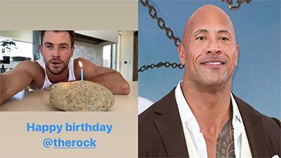 Sáng tạo như cách 'thần Thor' Chris Hemsworth chúc mừng sinh nhật The Rock: vừa tiết kiệm, lại rất thực tế