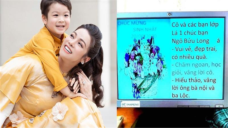 Bị cô giáo 'gạch tên' trong sinh nhật con, Nhật Kim Anh bức xúc: 'Xin gia đình nhà chồng hãy có chừng mực'