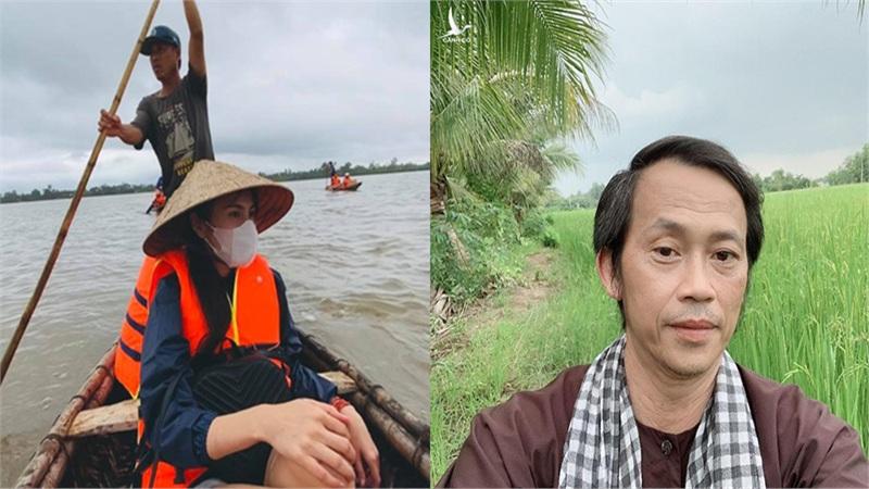 Bị so sánh với Thủy Tiên về số tiền quyên góp được cho miền Trung, Hoài Linh đáp trả thâm thúy