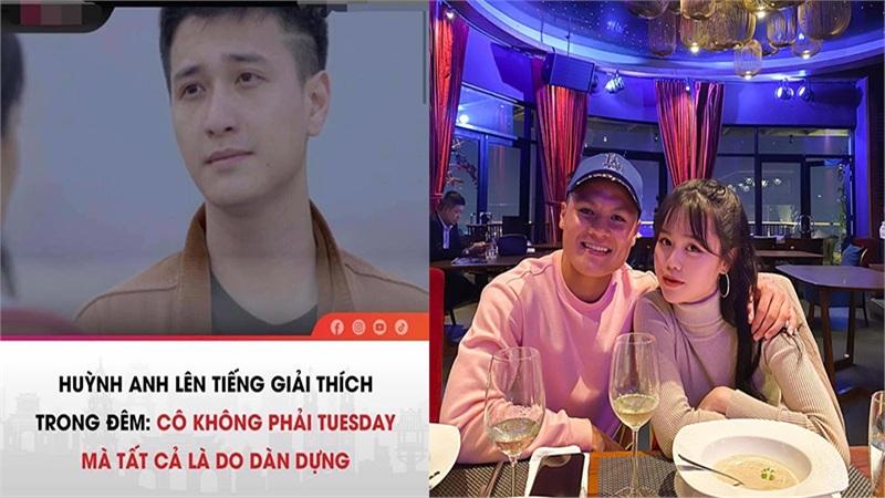 Góc dở khóc dở cười: Huỳnh Anh 'nằm không cũng trúng đạn' vào drama tình yêu của Quang Hải và bạn gái