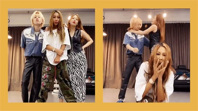 Nhảy cover cùng 'chị đại' Jessi, cặp đôi HyunA - Dawn vẫn không quên phát 'cẩu lương' cho fan đây này!