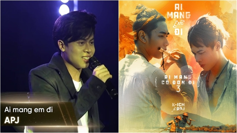 Netizen 'xỉu ngang' với màn luyến láy 'đi vào lòng người' của APJ - 'gà cưng' nhà K-ICM