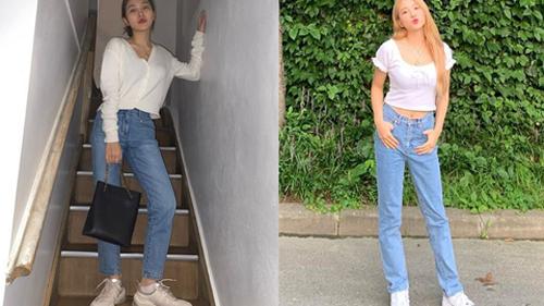 Thuộc 'team chân ngắn' của Kpop nhưng Yeri (Red Velvet) vẫn mặc quần jeans siêu nuột, ra là có bí kíp cả