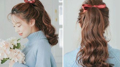 Những kiểu tóc đơn giản giúp chị em đẹp mà không vội khi làm việc online tại nhà