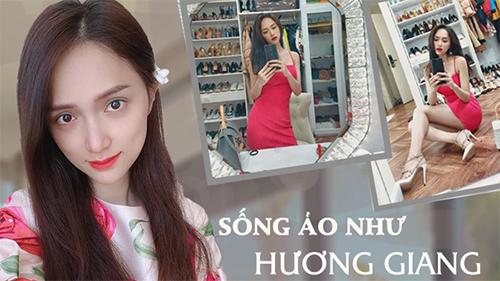 Gương kia ngự ở trên tường, có ai mặc đẹp được như Hương Giang: Selfie một góc là thường, chụp đôi ba góc mới đáng trầm trồ