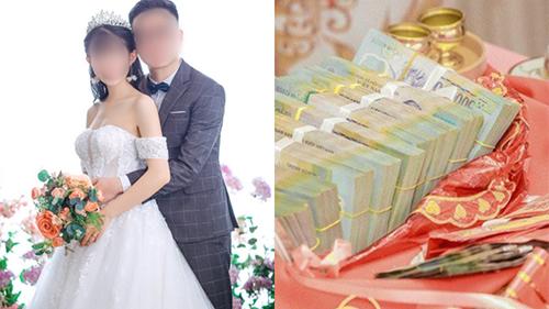 Kiểm tiền mừng cưới xong, chú rể tuyên bố: 'Vợ cũng không bằng mẹ' nhưng vừa dứt lời đã gặp ngay 'phản ứng sốc' của cô dâu khiến anh tái mặt