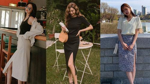 Sao phải khổ công tạo dáng khi chụp hình, chị em cứ diện kiểu váy này là cặp chân sẽ được kéo dài 'ảo diệu'