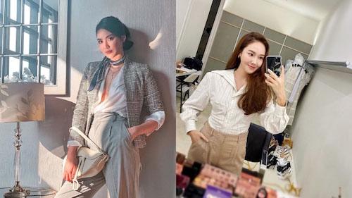 Từ Jessica Jung cho đến Lan Khuê cứ diện đồ style công sở sang chảnh là đẹp hết nấc