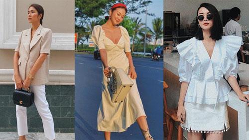 Chiêm ngưỡng 11 outfit đẹp quá mức quy định của mỹ nhân Việt, bạn sẽ muốn 'quẩy' đồ trắng tới bến trong Hè này