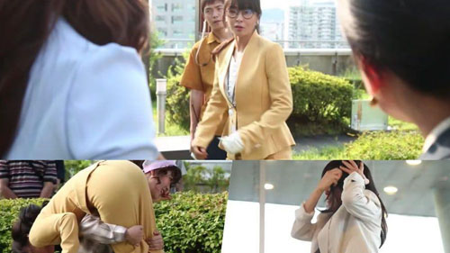 Choi Kang Hee không sợ bị rơi xuống đất để có một cảnh phim tốt trong 'Giả danh'