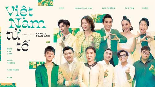 3 MV 'chống Covid' cùng xuất hiện trong tháng 5 với sự xuất hiện của nhiều các nghệ sĩ hàng đầu showbiz Việt