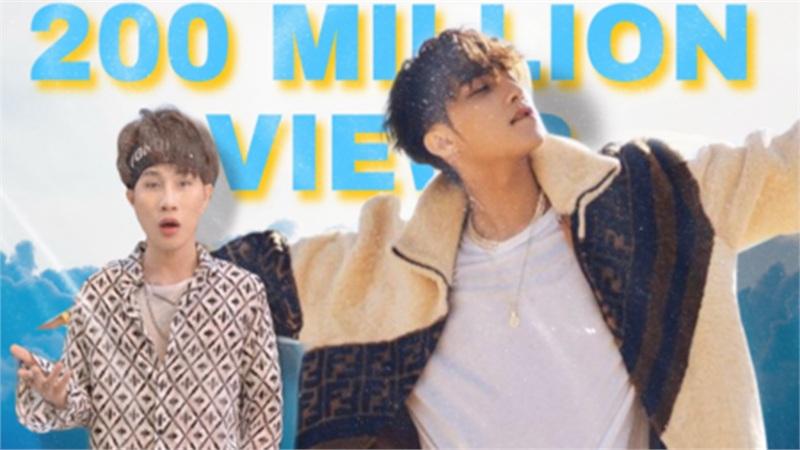 Sơn Tùng chính thức có MV thứ 3 đạt 200 triệu view nhưng vẫn ngậm ngùi về sau Jack