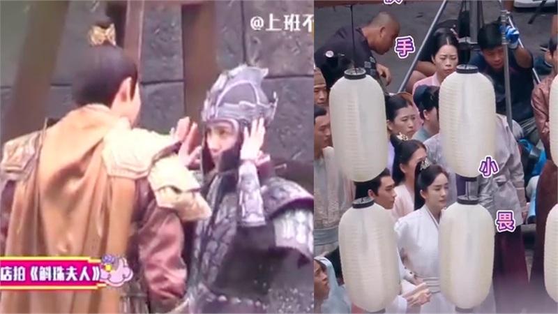 'Cửu Châu Hộc Châu phu nhân': Đội mũ giáp quá rộng, Dương Mịch gây choáng vì đầu bé đến kinh ngạc