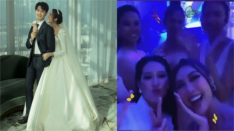 Clip: Thúy Vân 'quẩy' hết mình trong đám cưới cùng dàn người đẹp Miss Universe 2019