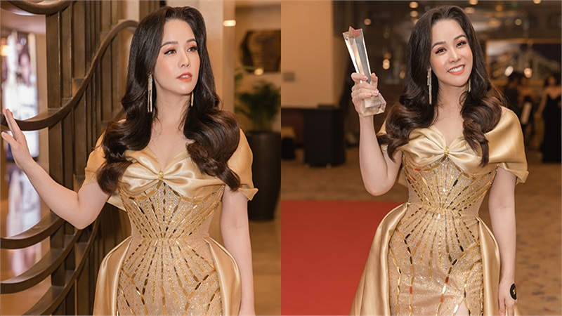 Dốc hết sức cho vai diễn, cuối cùng 'Thị Bình' của Nhật Kim Anh cũng rinh được giải thưởng