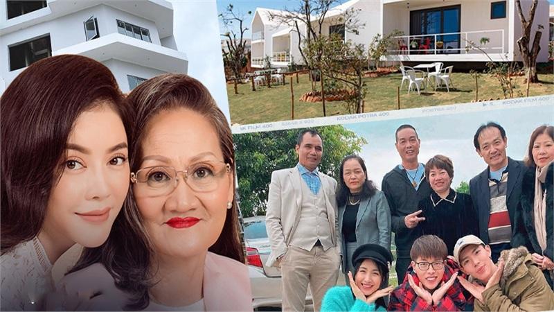 Sao Việt báo hiếu cha mẹ: Toàn mua nhà, mua xe tiền tỷ nhưng 'chất' nhất vẫn là đại gia Lý Nhã Kỳ tặng mẹ hẳn resort