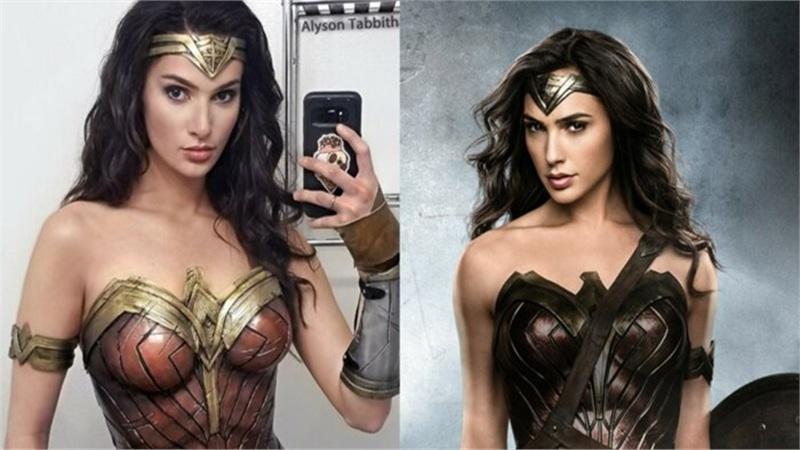 Trầm trồ trước khả năng hóa thân thành chị Đại Wonder Woman của Alyson Tabbitha - Thánh nữ cosplay chính là đây