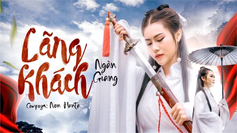 Ngân Giang phát hành online ca khúc 'Lãng Khách' sau cover gây sốt 'Sóng Gió' được khán giả yêu mến