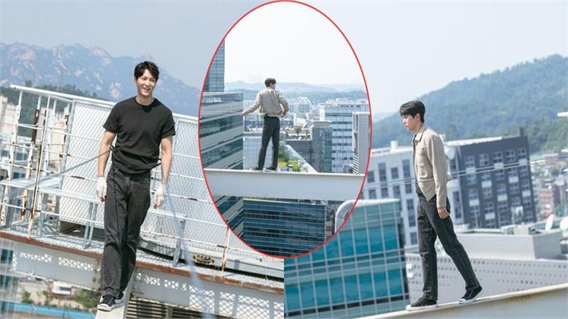 Hết hồn với những cảnh quay nguy hiểm Joo Won không nhờ đóng thế trong 'Alice'