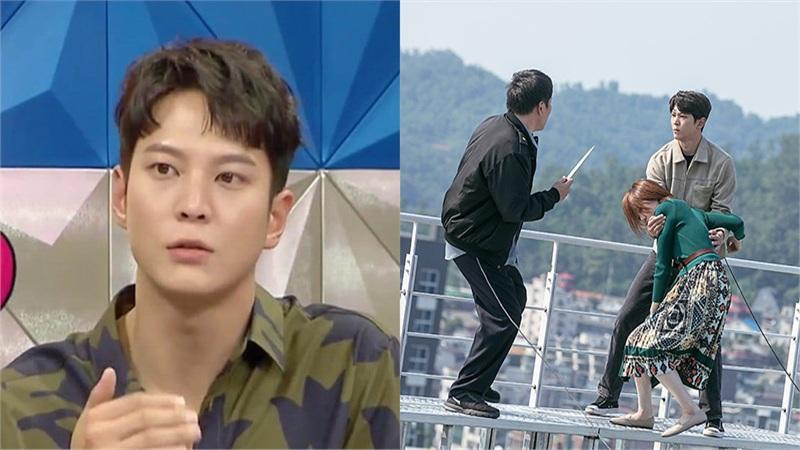 Joo Won chia sẻ về cảnh quay không nhờ diễn viên đóng thế trong 'Alice': Thật đáng sợ nhưng lại bận trấn an đoàn phim