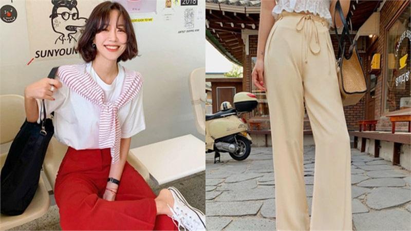 3 kiểu quần vải che giấu mọi nhược điểm vóc dáng, hội đùi to, chân cong phải ghim ngay còn sắm dần