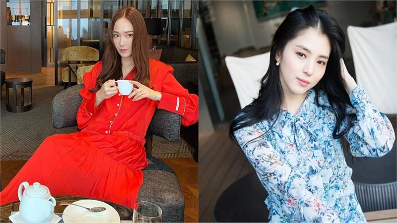 Sao Hàn diện váy liền mùa Thu: Nàng 'tiểu tam hot nhất xứ Hàn' cũng góp vui với bộ váy hoa đẹp mê ly