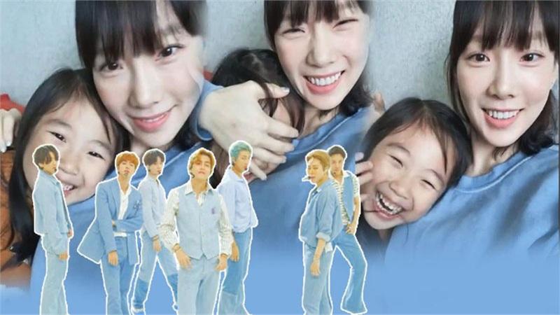 Xem ngay màn cover 'Dynamite' (BTS) ngẫu hứng đến từ Taeyeon và em họ cực đáng yêu